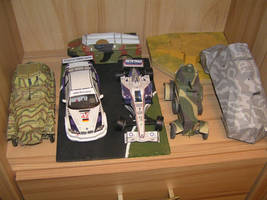 Collect of vehicles