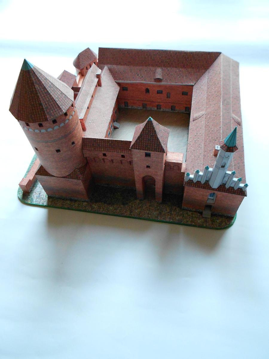 Reszel(castle) GPM 1:200 by LisciuPL
