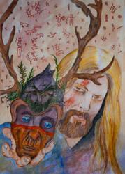 The Shaman Mask by VikingWidunder