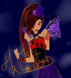 Winx Club Artwork   Happy Halloween !