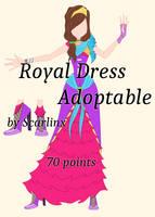 Winx Club Adoptables   Royal Dress [OPEN]