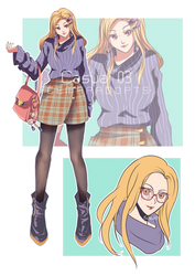 [OPEN AUCTION] Casual 03 by CemarAdopts