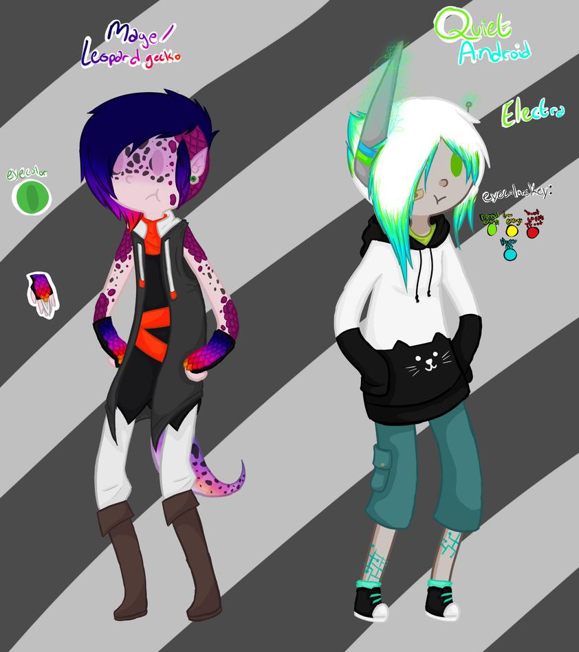 Couple o' Cutes by RubySpades