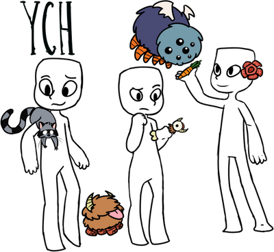 Don't Starve Inspired YCH [Unlimited] by RubySpades