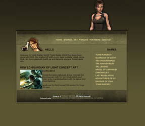 Tomb Raider World 1 by TiernanW5