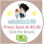 michixx148 Commish Info by CACplz