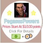 PegasusPowers Commish Info by CACplz
