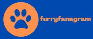 Furryfanagram logo (new and fixed)