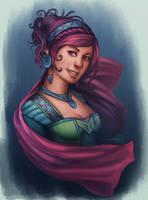 Lady by xiliuv