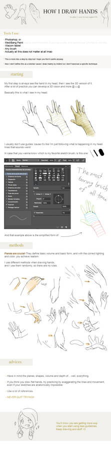 How I Draw: HANDS