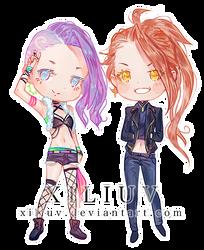 Byo and Daesi by xiliuv