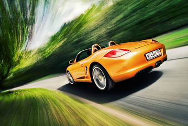 Porsche Boxster 3 by kk11