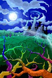 Smash Ghosts main title by Eidog