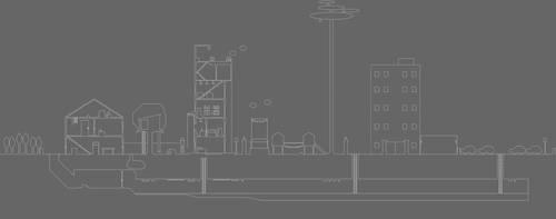 Gray Taller Town by Eidog