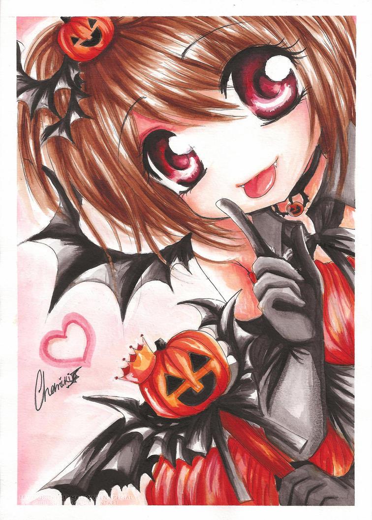 Trick or Treat. Halloween Love by cherriuki