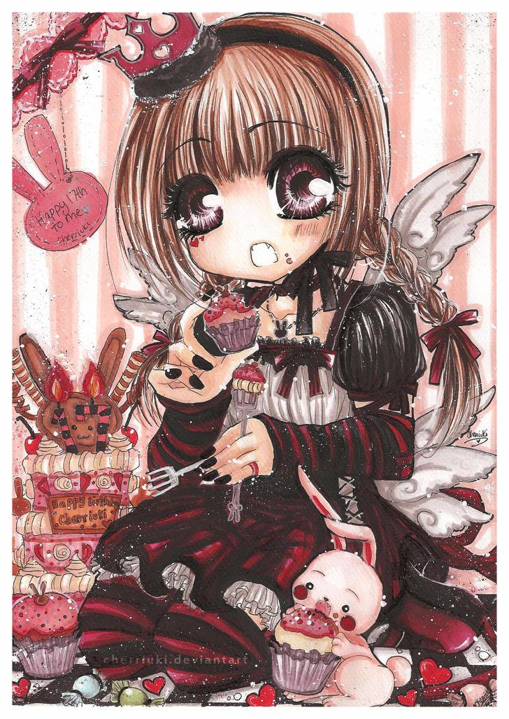 Chibi queen of heart nè!!! Merry_Birthday__Surprise__by_cherriuki