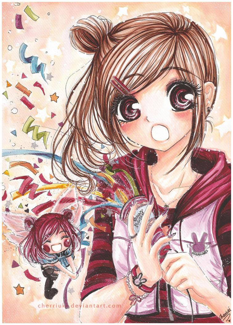 Chibi queen of heart nè!!! Surprise_LALA__Kiseki_Issue_6_by_cherriuki