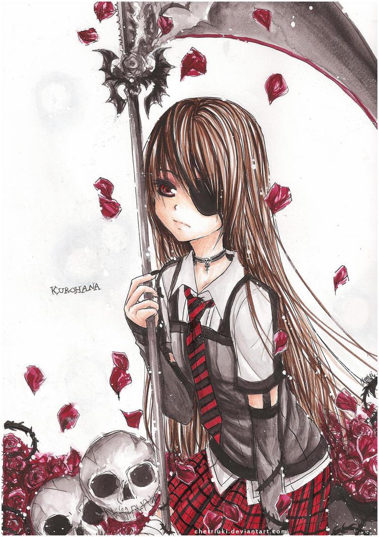 Chibi queen of heart nè!!! Kurohana__Garden_of_Red_Roses__by_cherriuki