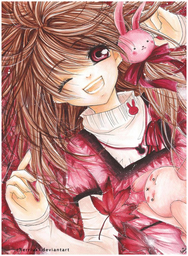 Chibi queen of heart nè!!! Usako__In_With_Autumn__by_cherriuki