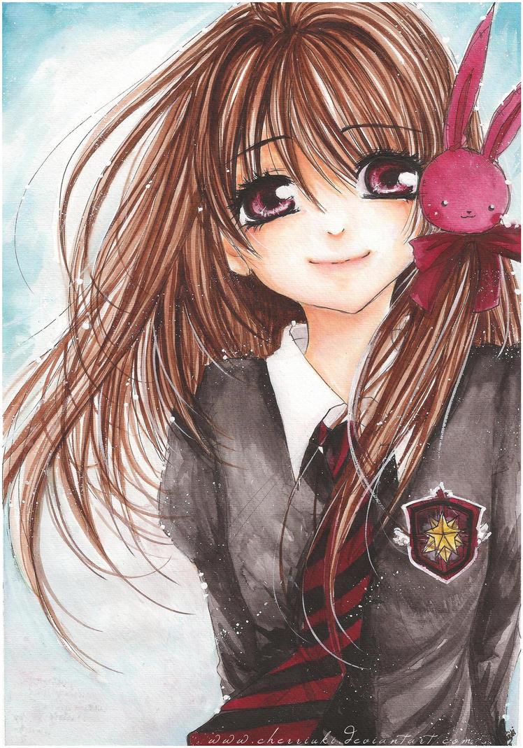 Chibi queen of heart nè!!! Usako__Smile_Please__by_cherriuki