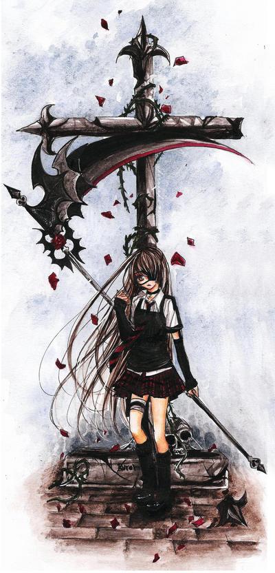 + Fallen C r o s s + by cherriuki