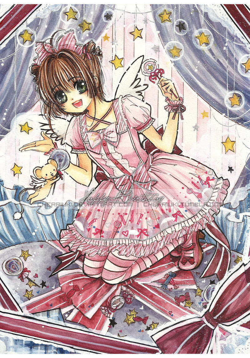 Commission: Sweet Lolita Sakura by cherriuki