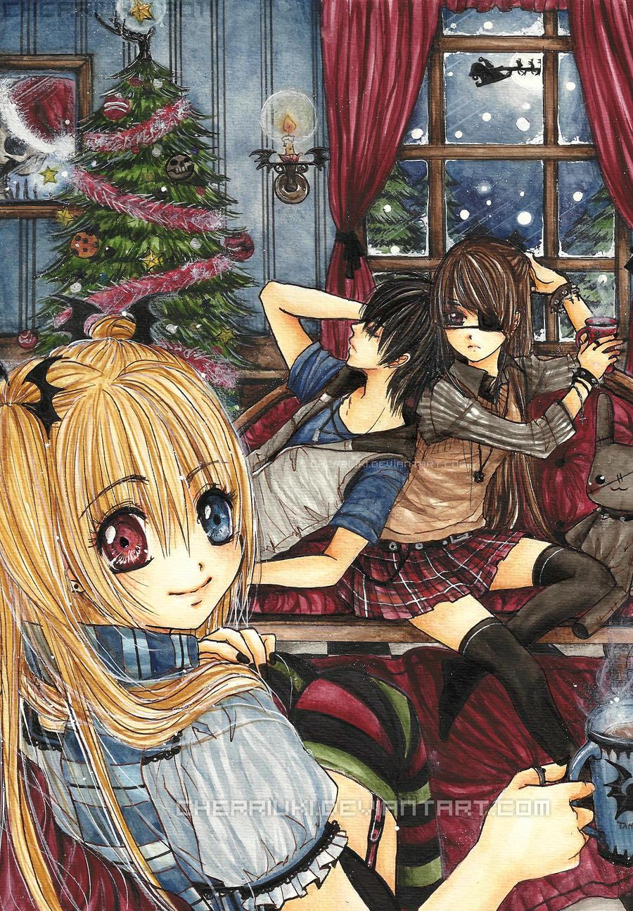 :Merry Christmas: by cherriuki