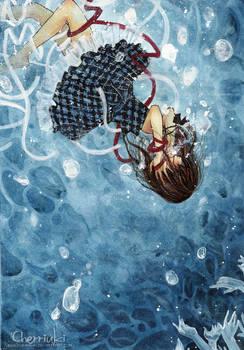 . drown