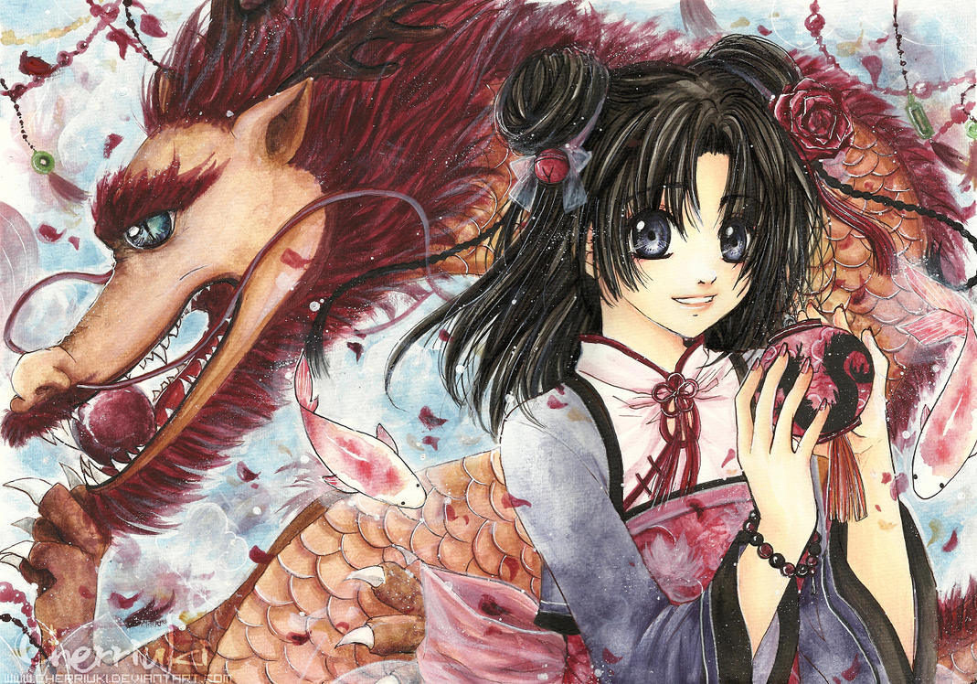 2012: Year of the dragon by cherriuki