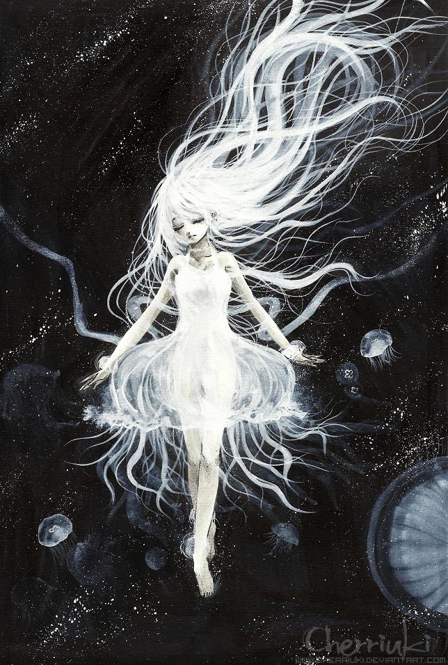 Jellyfish II by cherriuki