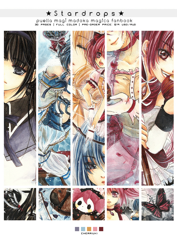 Madoka Magica Fanbook Order open! by cherriuki