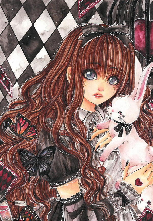 Little Black Alice by cherriuki