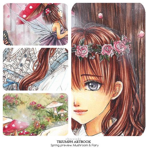 Triumph Artbook: Spring by cherriuki