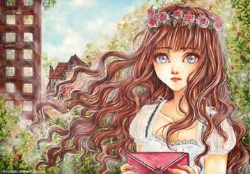 In the Garden by cherriuki