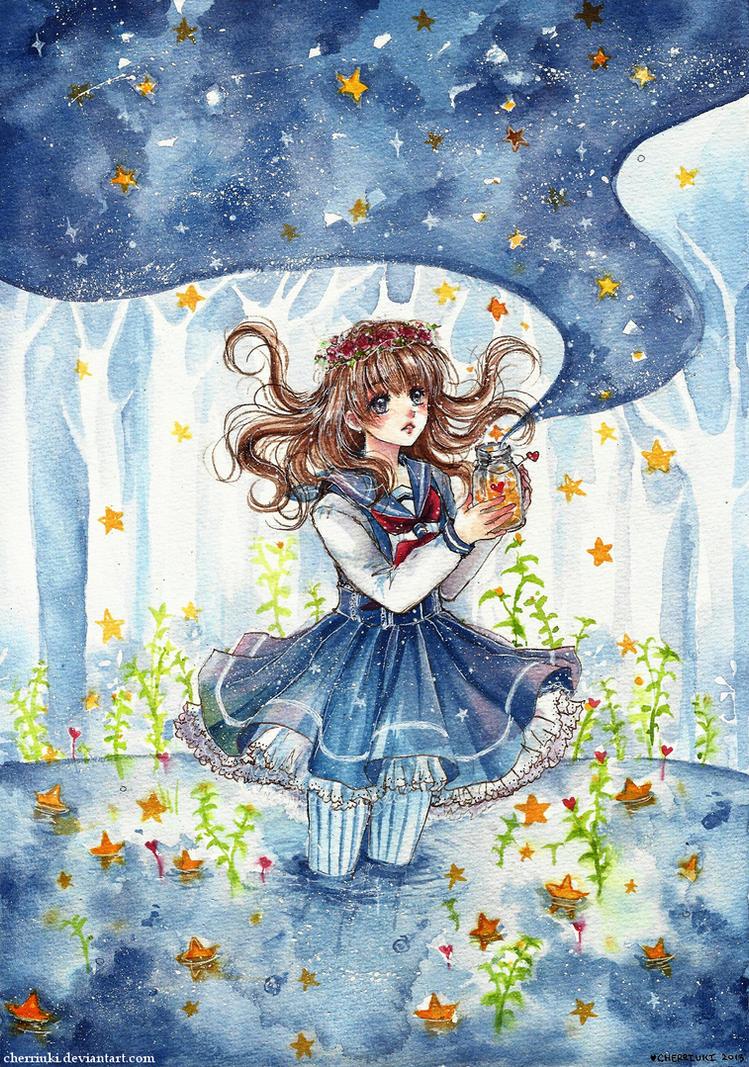 Star Stream by cherriuki