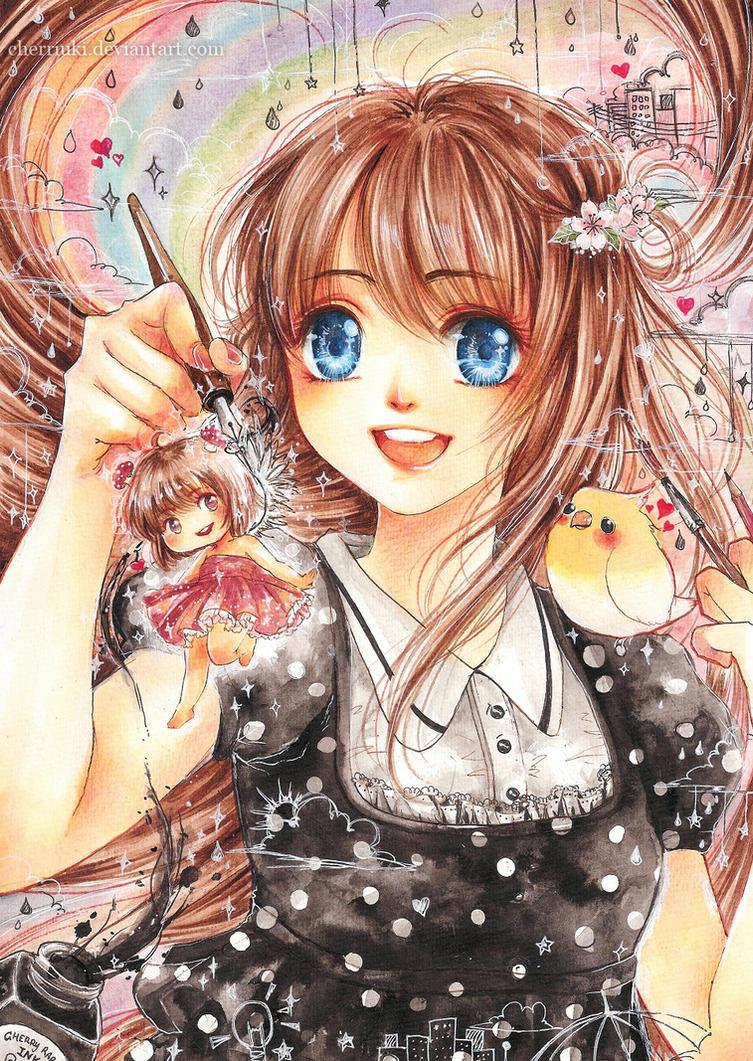 Imagination by cherriuki