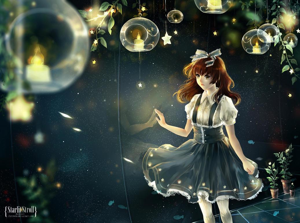 Starlit Stroll by cherriuki