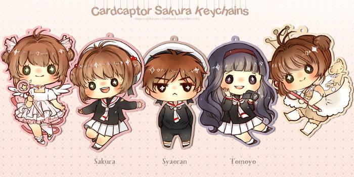 Cardcaptor Sakura Keychain Set