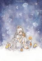 Jellyfish of the Night by cherriuki