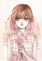 Pink Carnation by cherriuki