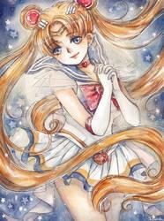 Sailor Moon by cherriuki