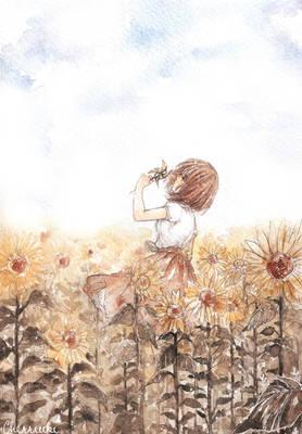 Sunflower Dreamer