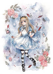 Alice by cherriuki
