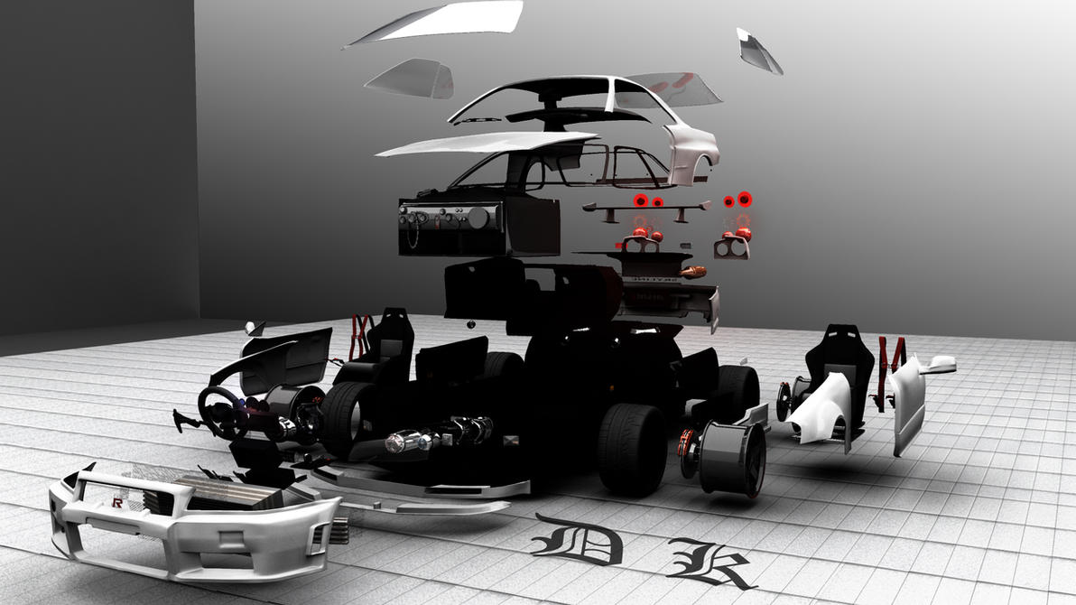 nissan gtr skyline r34 parts by prabhudk on deviantart. Black Bedroom Furniture Sets. Home Design Ideas