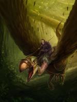 Monster_Vulture by PrabhuDK