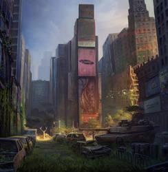 Abandoned_NewYork by PrabhuDK