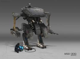 SWAT Robot by PrabhuDK