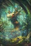 Dragon Skull House by airagitt