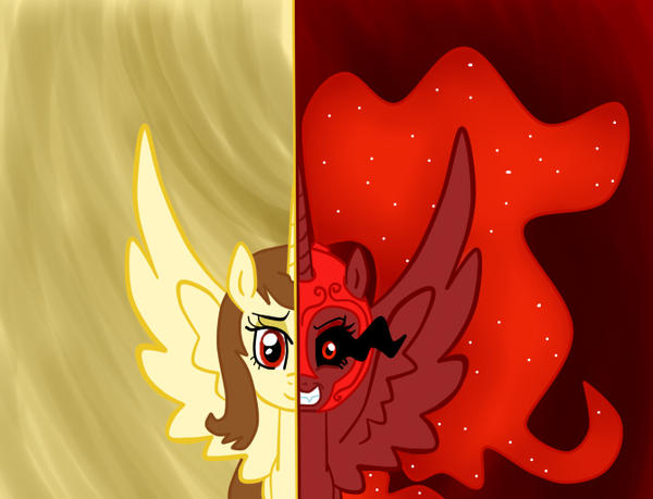 MLP - Two Sides of aqmar by aqmar97