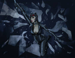 Catwoman 2 in color by Antimad1